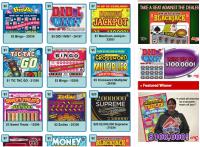 Scratch n win lotteries