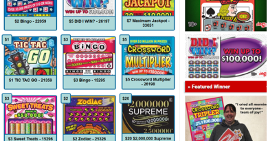 Scratch n win lotteries