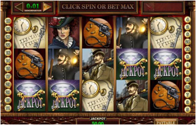 Sherlock Holmes Bingo Slot Machine at Canada