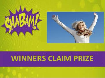 ShaBam Claim Prize
