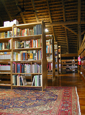 Inside Canaday's Book Barn