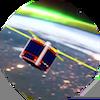 STMSat-1 Orbit - Button attempt v3 100x100