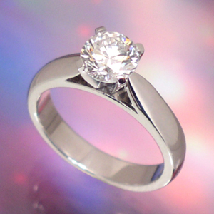 Ring Cartier Diamond Engagement Ring