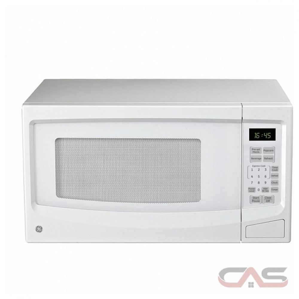 ge jes1145wtc countertop microwave 1 1 cu ft capacity 1100w watts 20 inch exterior width white colour