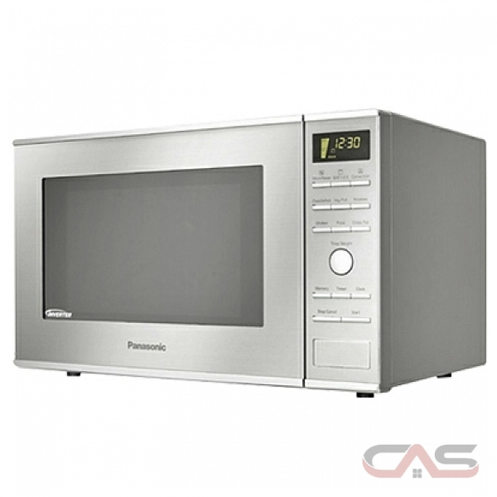 panasonic nnsd671sc countertop microwave 1 2 cu ft capacity 1200w watts 20 inch exterior width stainless steel colour