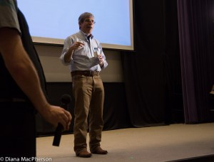 Jerry Coyne During Q&A at OISE