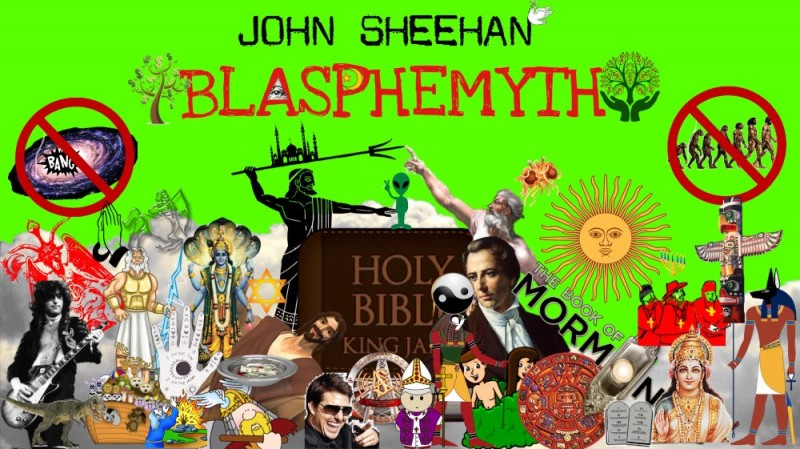 "[Promotional image for ""Blasphemyth"" show.]"