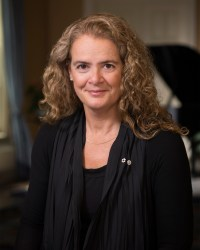 [Photo of Julie Payette]