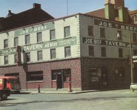 [Photo of Joe Beef's Tavern in 1966.]