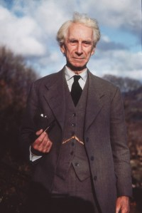 [Photo pf Bertrand Russell]