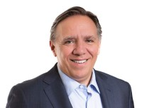 [Photo of François Legault]