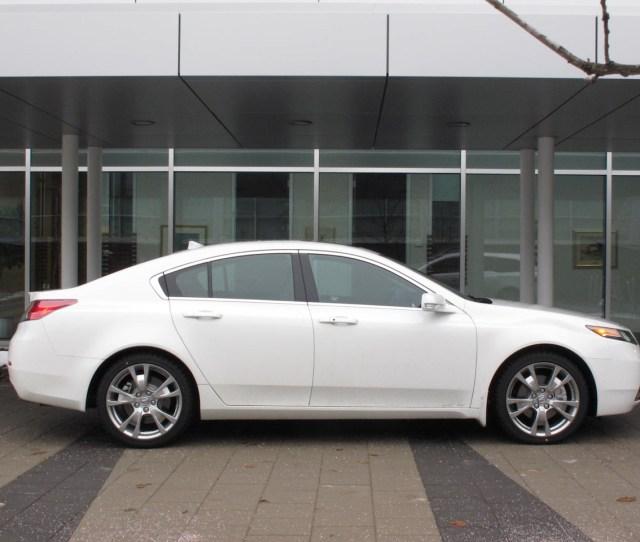 2012 Acura Tl Sh Awd Elite White