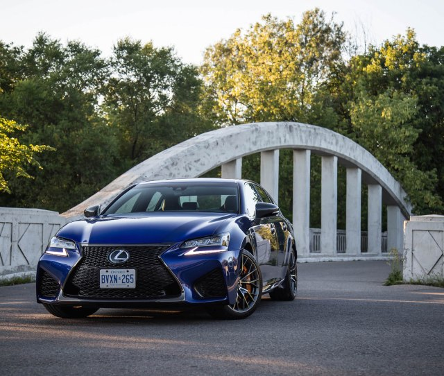 Lexus Gs F Canada Review New Used
