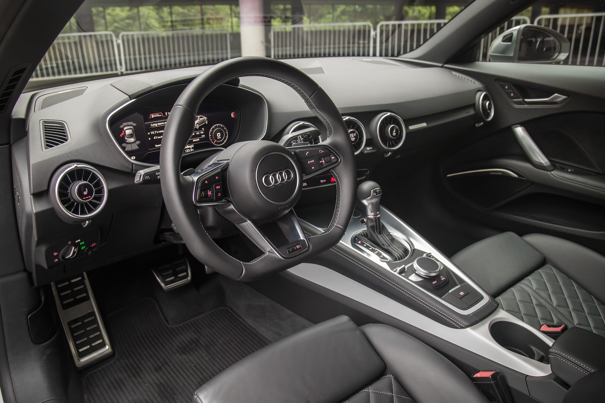 Audi Tt 2017 Interior