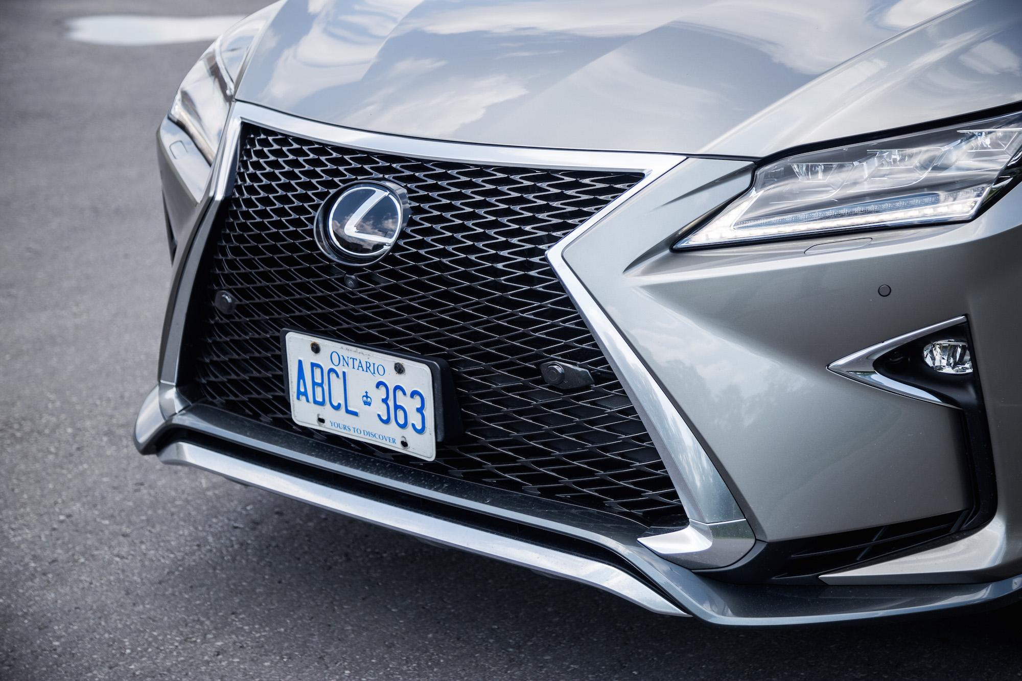 Review 2017 Lexus RX 350 F Sport Canadian Auto Review