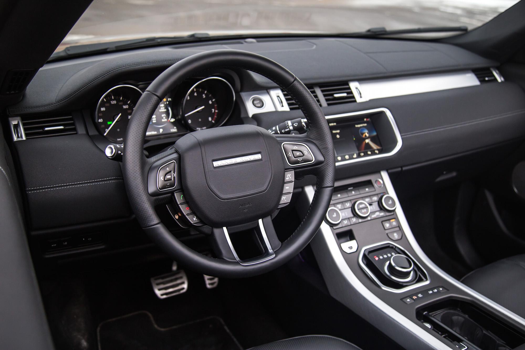 Review 2017 Range Rover Evoque Convertible
