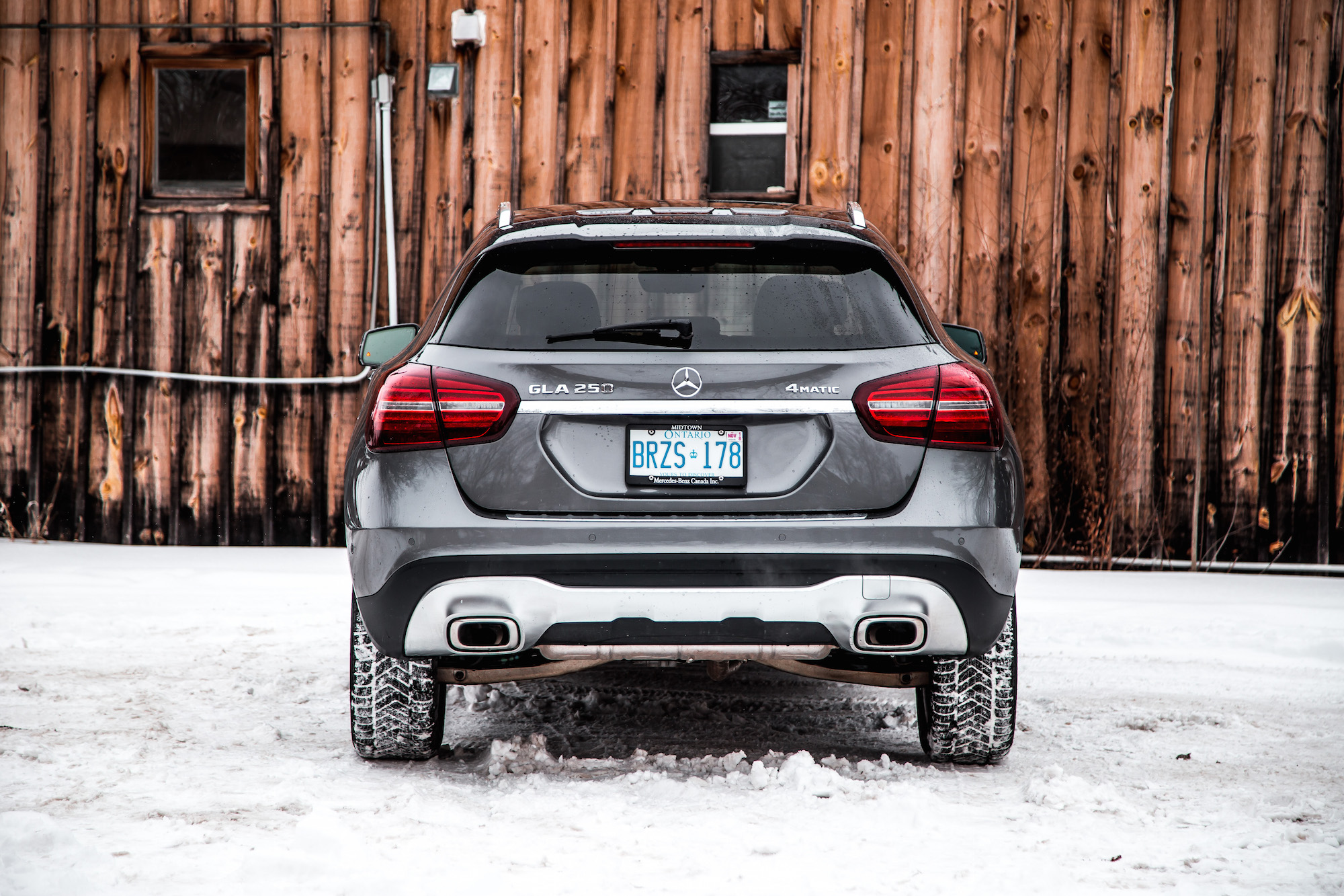 Review 2018 Mercedes Benz GLA 250 4MATIC Canadian Auto