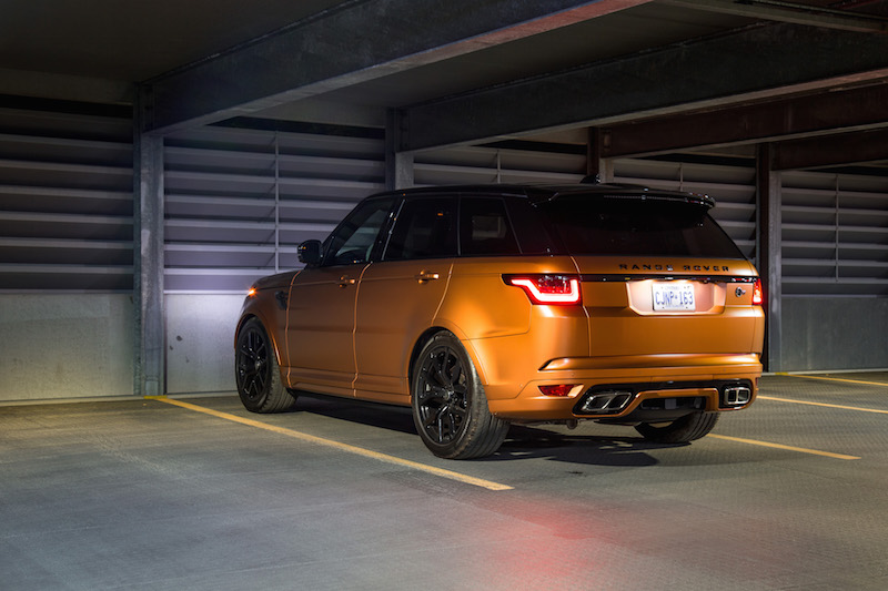 Review Range Rover Sport Svr