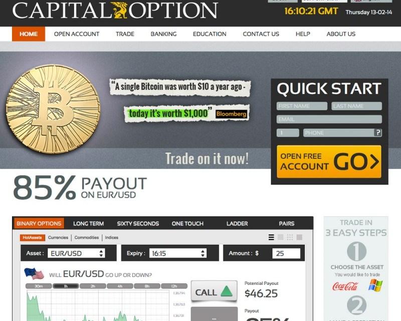 Capital Option Platform