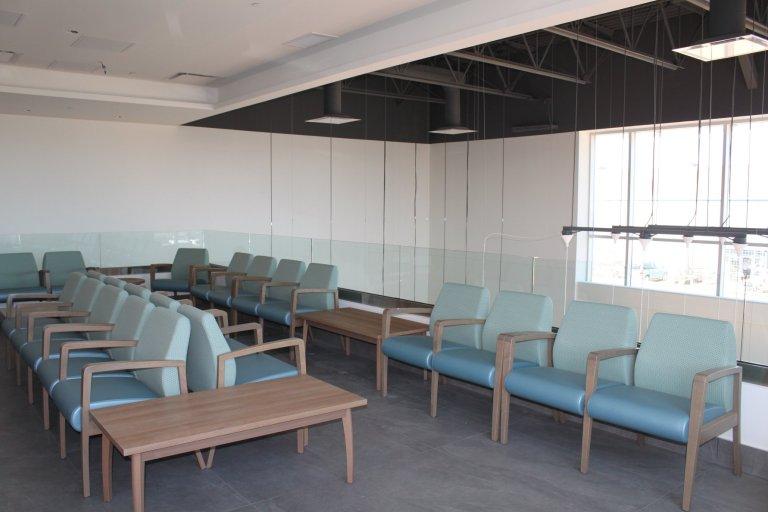Second floor waiting area.
