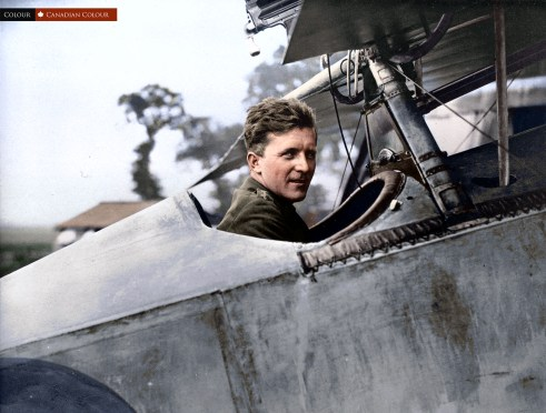 Billy Bishop Colourized