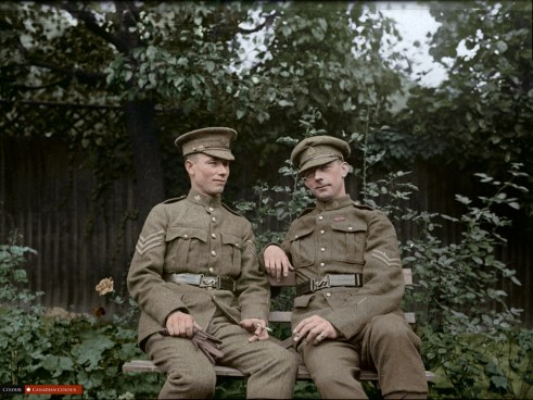 Colourized Photo - John Chipman Kerr VC