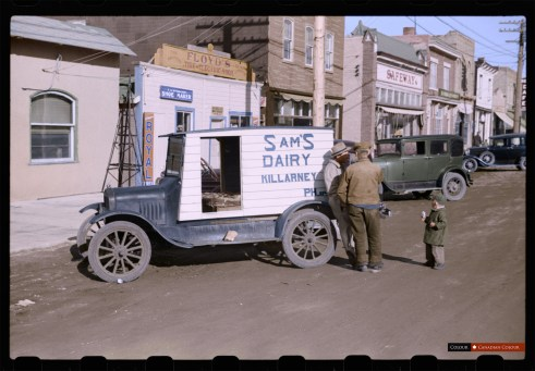 Killarney, Manitoba - Colourized Photograph