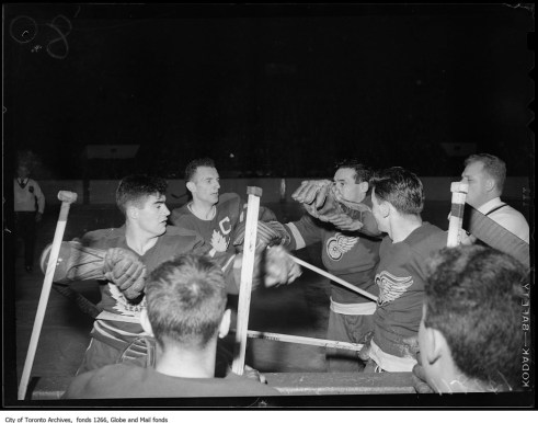 Stanley Cup 1949 - Original Photograph