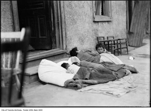 Toronto Sleepers - Original Photograph
