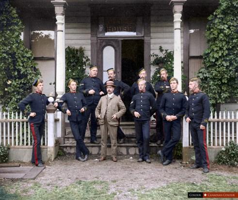 Garrison - Colourized Photograph