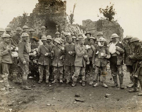 WW1 Tea - Original Photograph