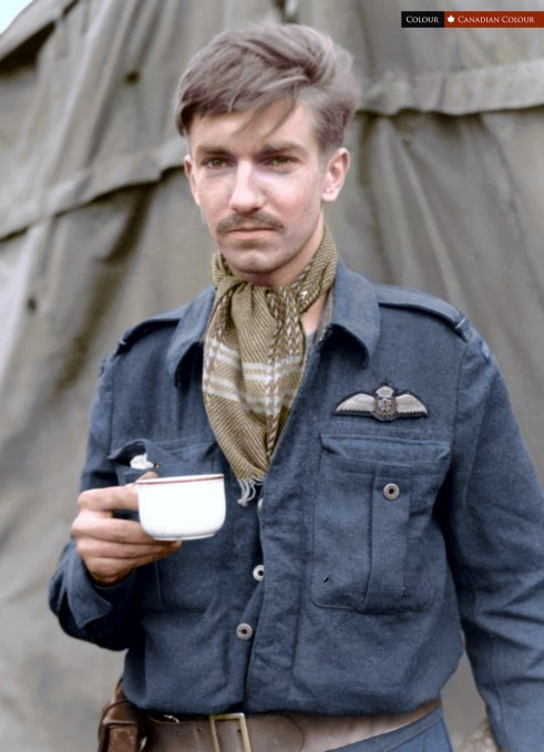 John Flintoff - Colourized Photograph