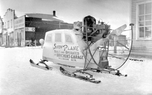 Snow Plane - Original Photograph