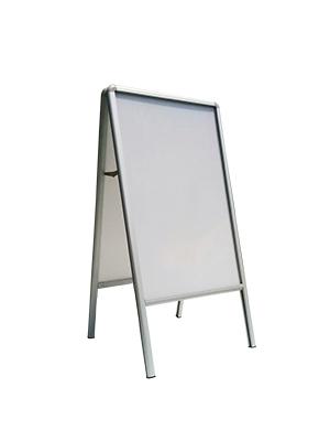 a frame aluminum sidewalk poster stand easel