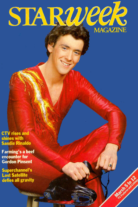Check Out What Brian Orser and Starweek Looked Like  in 1983