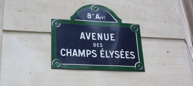 Champs-Elysées…Does It Live Up To The Hype?