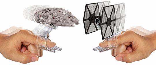 Hot Wheels TIE Fighter vs. Millennium Falcon Starships