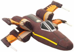 The Force Awakens Plush Resistance X-Wing Fighter