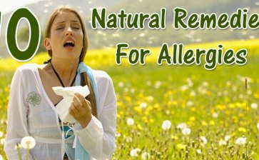10 Natural Remedies for Spring Allergies ©