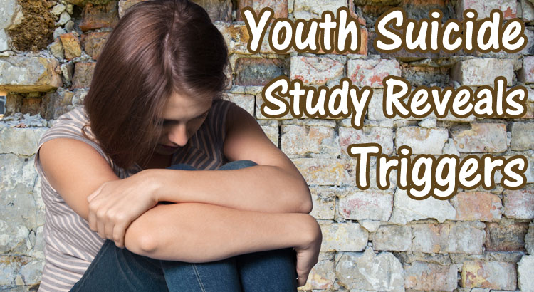 Youth Suicide Study Reveals Triggers (Infographic)