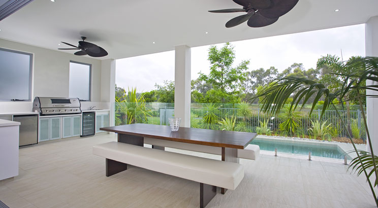 Building Your Outdoor Kitchen - Weather Protection