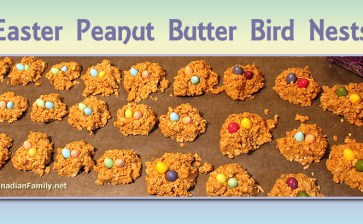 Peanut Butter Bird Nests – No-Bake Recipe for Easter