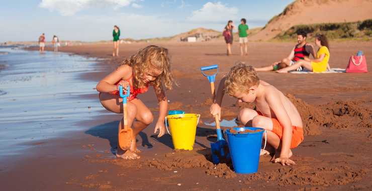 PEI Kid-Friendly Beaches