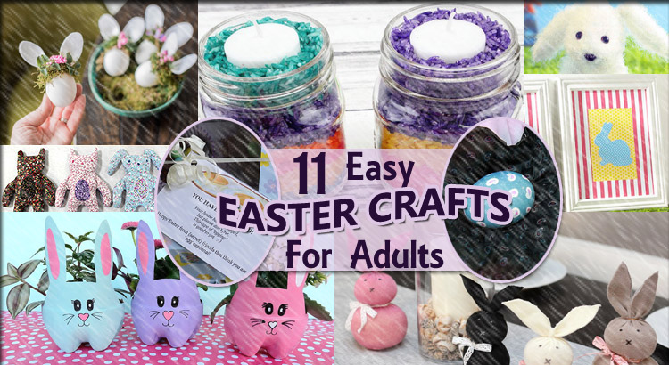 11 Easy Easter Crafts For Adults Canadian Family Net