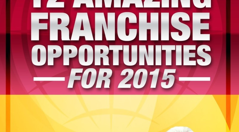 Cover, Amazing Franchise Opportunities 2015