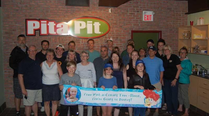 Pita Pit franchise stores unite for make-a-wish