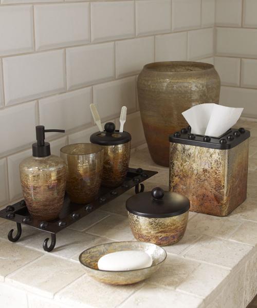 Bathroom Tray Set