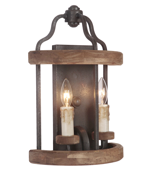 Rustic Sconces & Lodge Wall Lamps on Rustic Wall Sconces id=28843