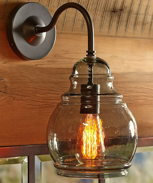 Rustic Sconces & Lodge Wall Lamps on Rustic Wall Sconces id=16463