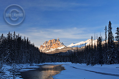 Banff National Park offers some inspiring views for backpackers.